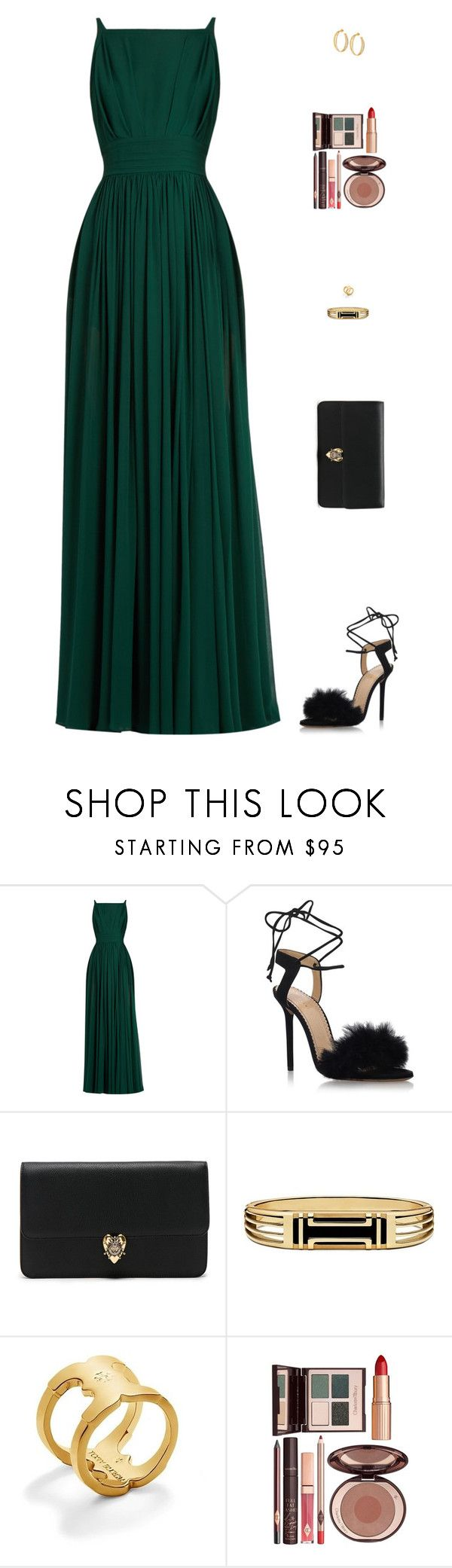 """Sin título #4857"" by mdmsb on Polyvore featuring moda, Elie Saab, Charlotte Olympia, Alexander McQueen, Tory Burch y Charlotte Tilbury"
