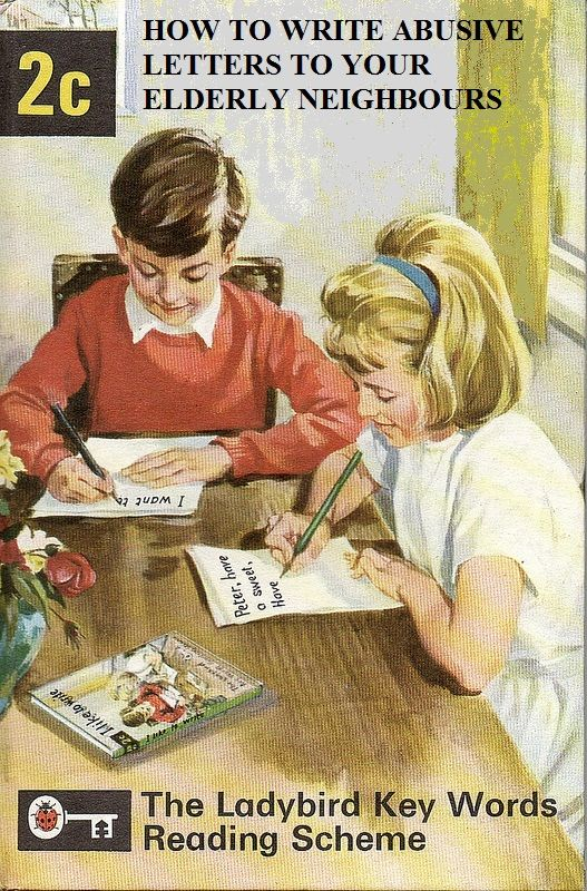 from the Ladybird Juvenile Delinquent series, 1964 (spoof ) lol