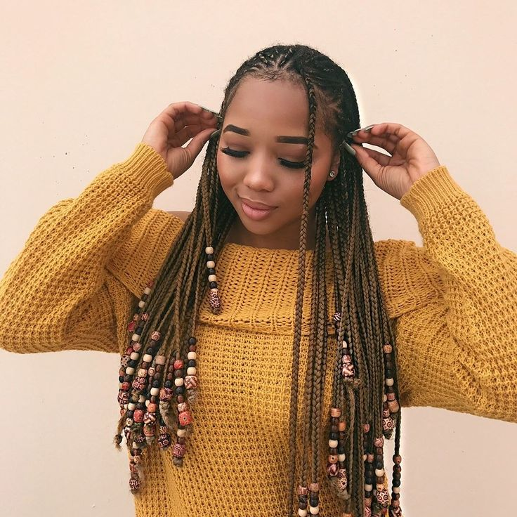 The Braids And Beads Trend Is Taking Over Instagram
