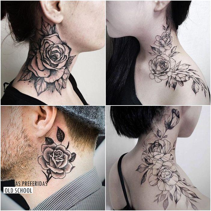 Você faria uma tatuagem no pescoço?