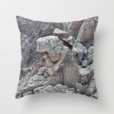 Kullamannen Throw Pillow by lilla värsting - $20.00