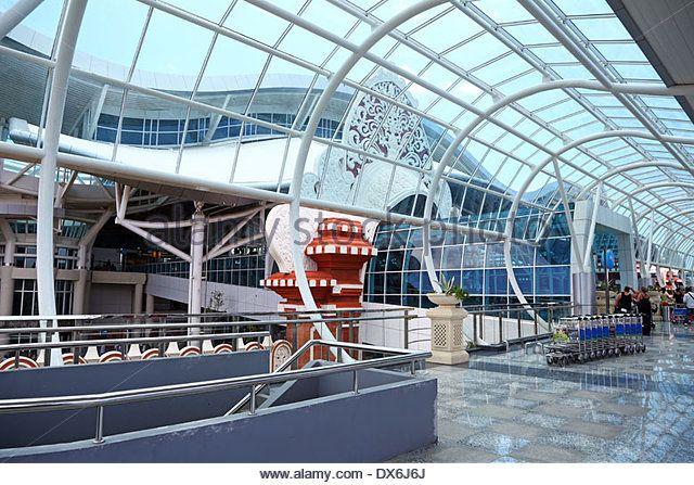 Bali Ngurah Rai International airport, Denpasar, Bali, Indonesia - Stock Image
