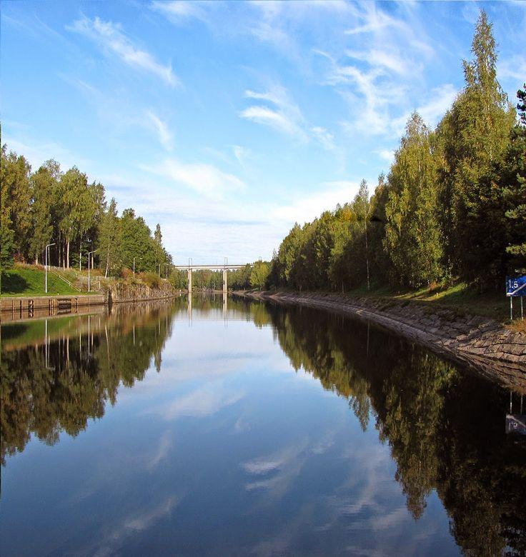 Saimaa lake,Finland