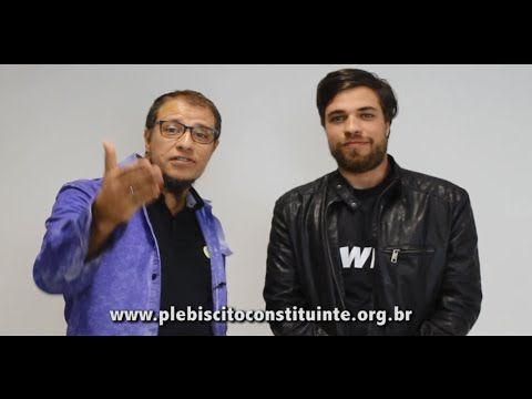 Irmãos Anitelli declaram seu apoio ao Plebiscito Constituinte!