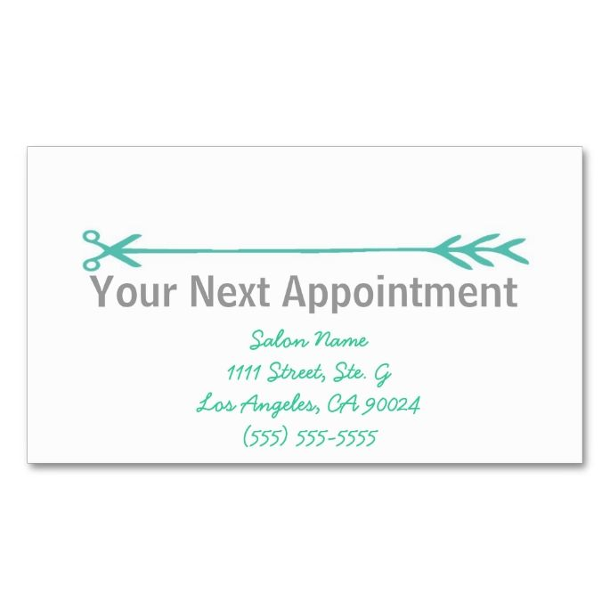 2211 best appointment business card templates images on pinterest stylist business cards wappointment reminder fbccfo Choice Image