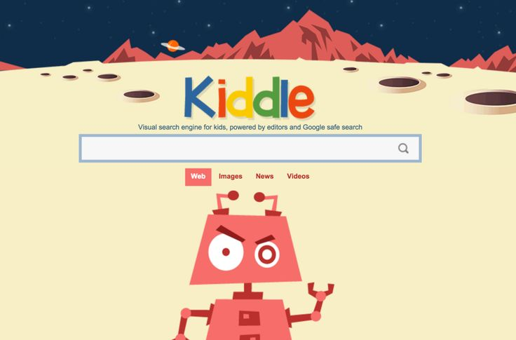 Kiddlesafe search engine for kids. This is brilliant