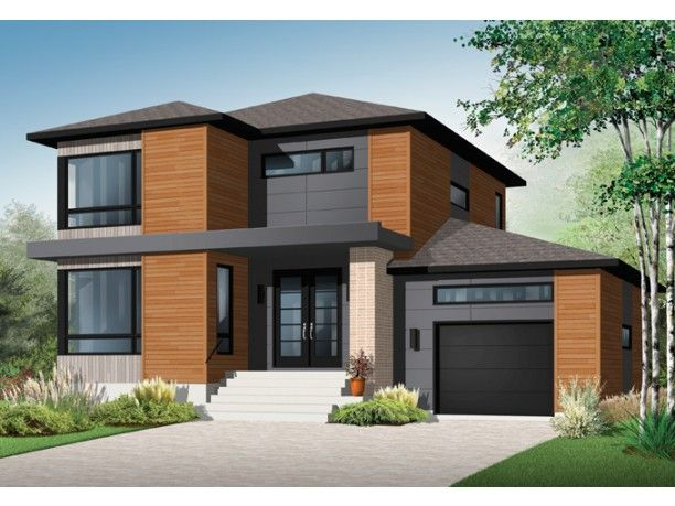 contemporary modern house plan