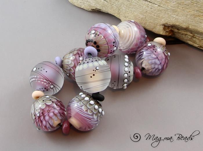 Мировой лэмпворк: Magma Beads - Ярмарка Мастеров - ручная работа, handmade