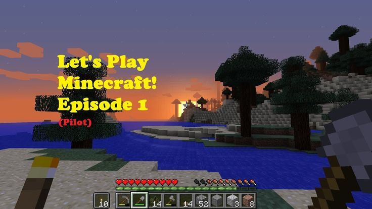 Let's Play Minecraft! Ep.1: Establishing Foundation (Pilot)