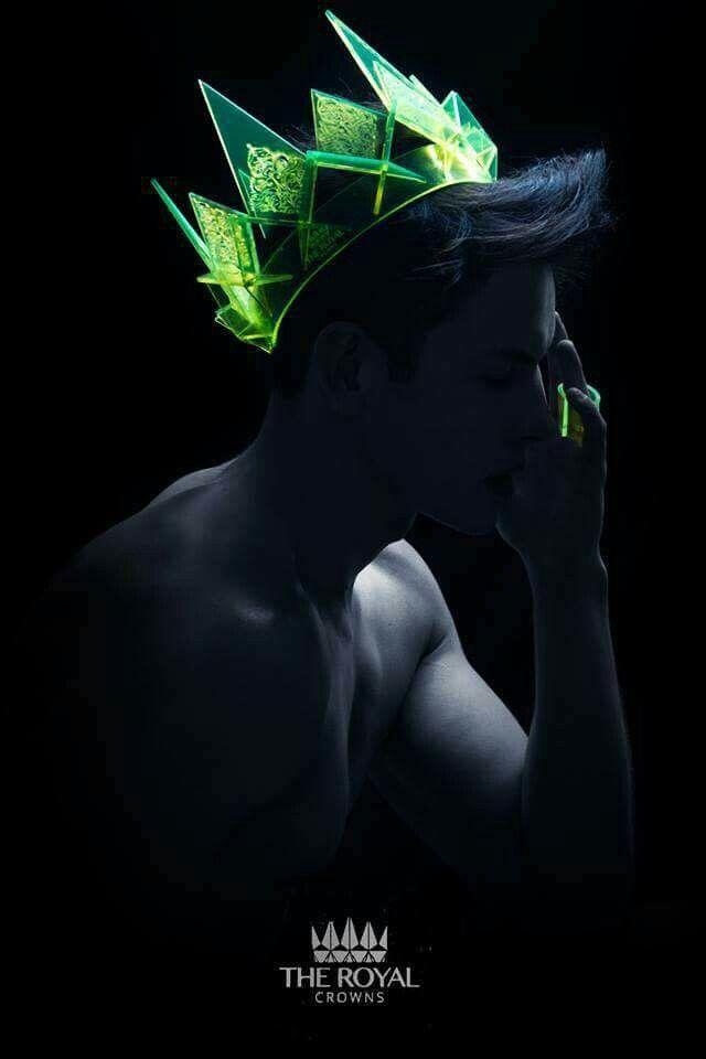 Neon prince crown