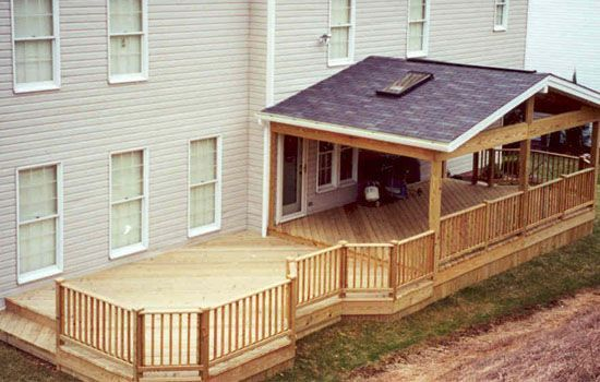 Covered Decks And Porches Covered Back Deck Extended