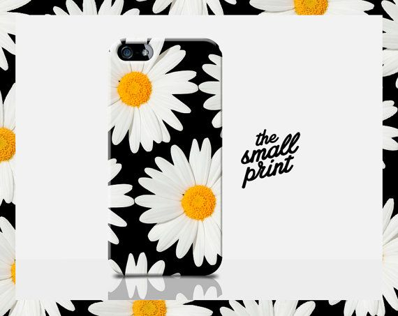 Daisy Cell Case Daisy iPhone 6 Case Floral by TheSmallPrintCases