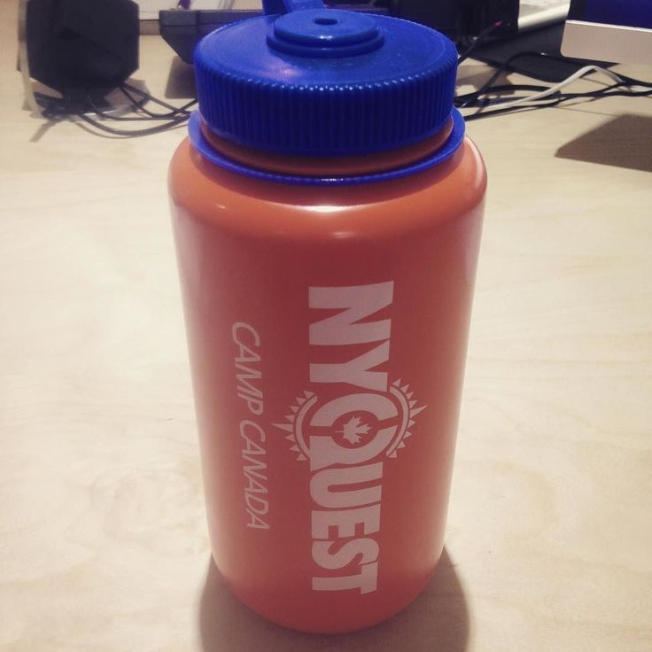 Fresh Nalgene's just arrived in the office! Can't wait to give them to our participants! by campcanada