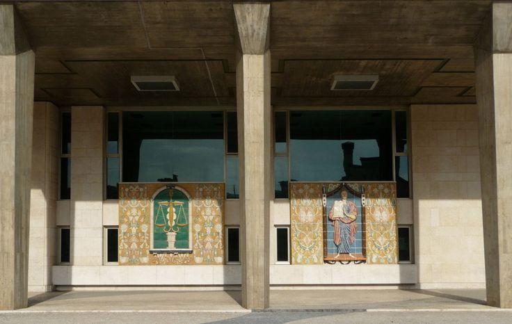 Jorge Barradas   Lisboa   Palácio da Justiça / Justice Palace   1969 #Azulejo #JorgeBarradas