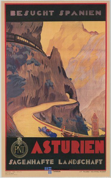 Asturias, España. #Spain #vintage #tourism