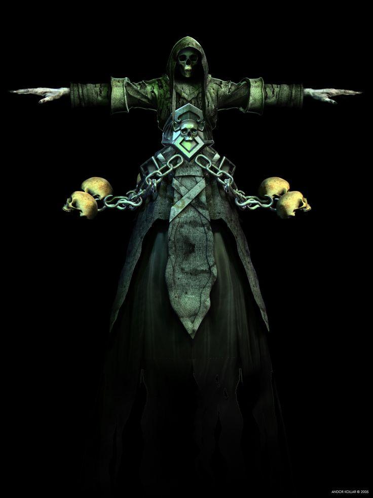 Andor Kollar Wight Heroes of Might and Magic V Skulls