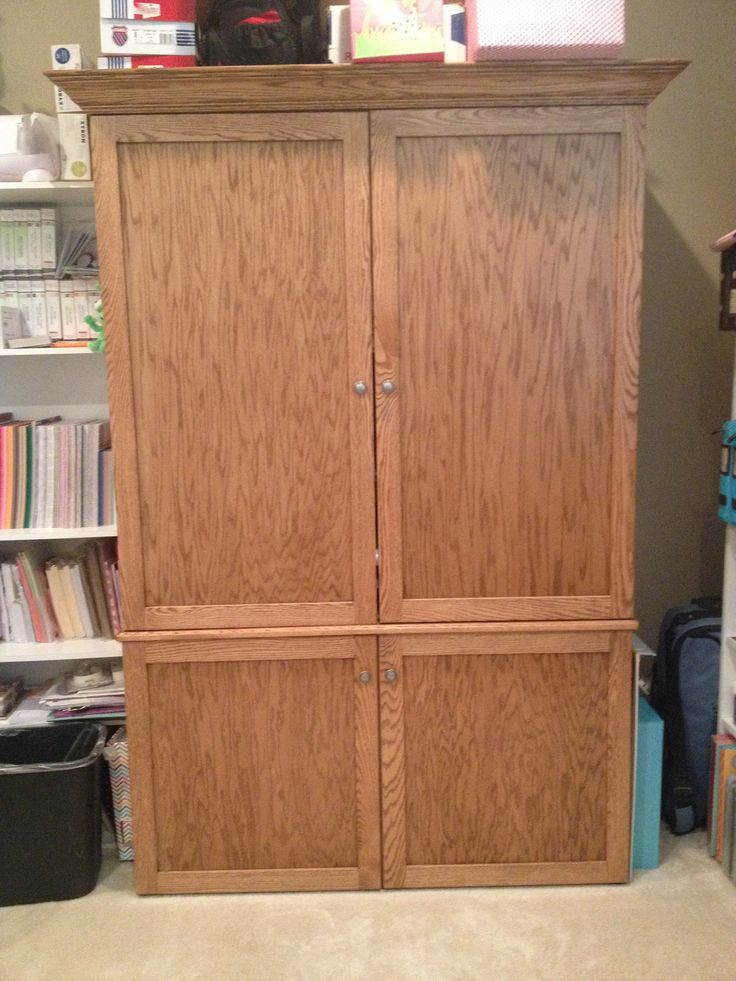 7 Best Images About Custom Armoire On Pinterest Design Your Own Home Offic