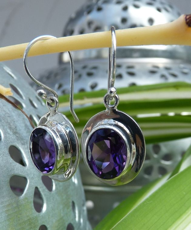 Amethyst Earrings   Spoil Yourself Today