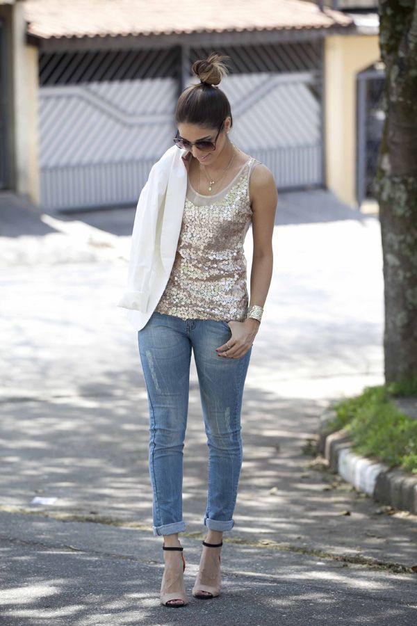 Paetê   Jeans!