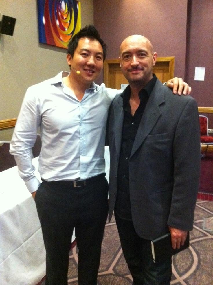 John Lee with David Tillyer