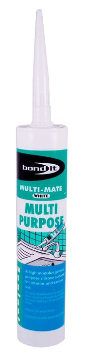 Bond It All Purpose Silicone Sealant White 310ml At Door furniture direct we sell high quality products at great value including Multi Purpose Silicone White 310ml in our Maintenance and Repair range. We also offer free delivery when you spend over  http://www.MightGet.com/january-2017-12/bond-it-all-purpose-silicone-sealant-white-310ml.asp