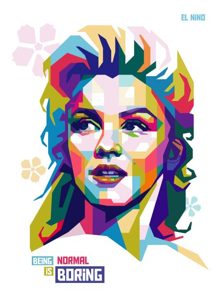 Marilyn Monroe in #WPAP