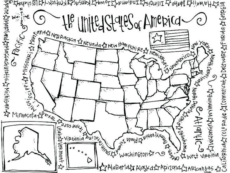 united states symbols printables state symbols coloring