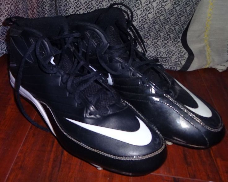 Nike Size 13 SPEED STRIKE HIGH TOP FOOTBALL CLEATS Game Practice Mens