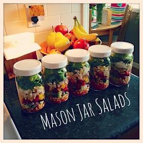 Catlin Family: Mason Jar Salads