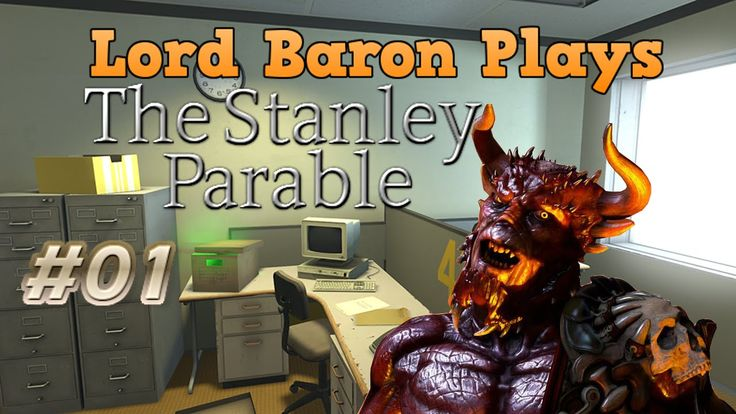 Baron Plays The Stanley Parable #1 |Surprise Party