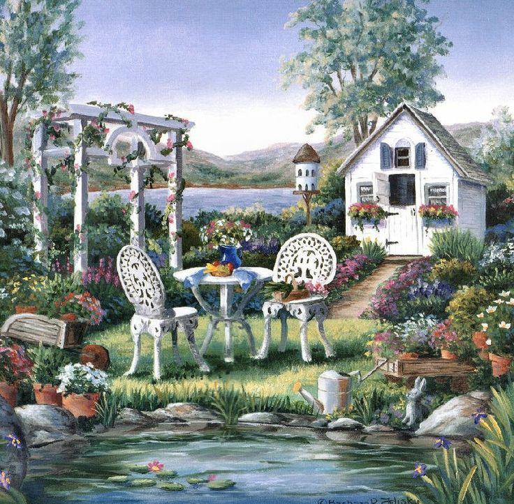 Garden ~ by Barbara Felisky
