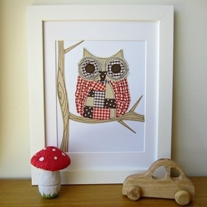 Woodland Owl by Cheeky Pickle