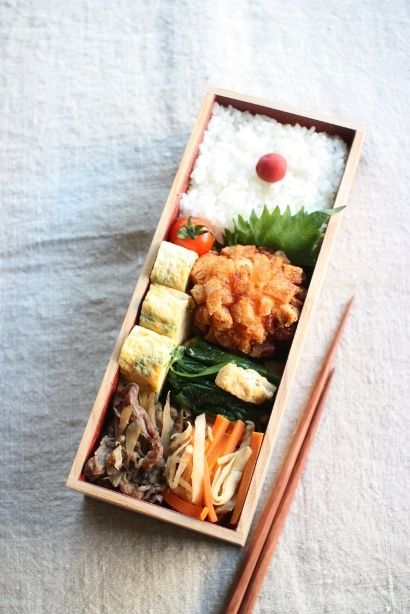 日本人のごはん/お弁当 Japanese Bento Boxed Lunch 豪華具沢山日の丸弁当