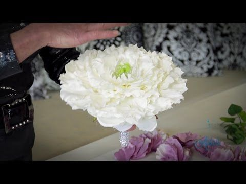 How to make a Glamelia Floristry Tutorial - YouTube
