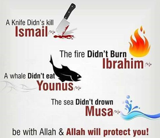 Alhamdullilah for the protection Allah grants us!