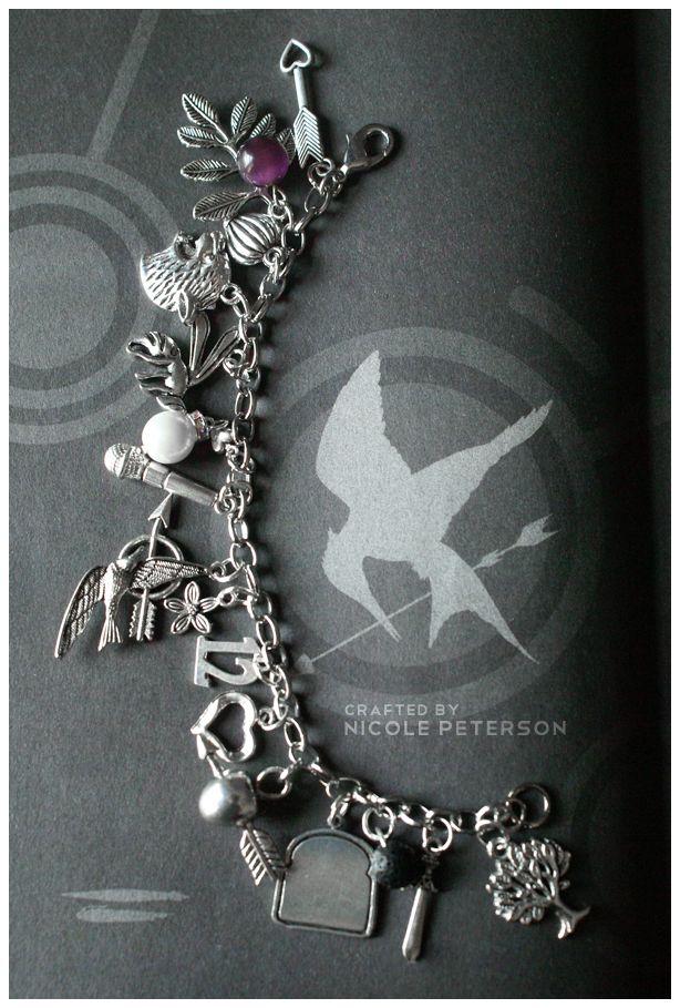 Hunger Games Charm Bracelet by *MonsterBrand on deviantART