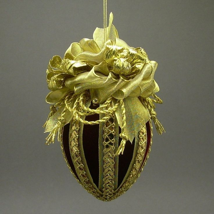 All That Glitters ornament from Towers and Turrets, handmade Victorian Christmas ornament.
