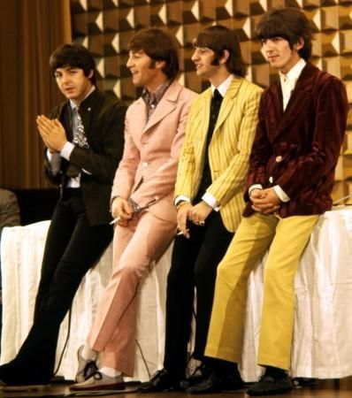 Paul, John, Ringo and George