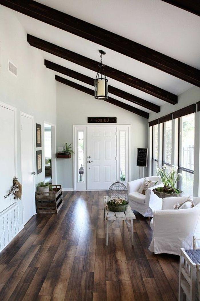 Poutre Bois Leroy Merlin - Les 25 meilleures idées concernant Planche De Bois Plafond sur Pinterest Plafond en planches