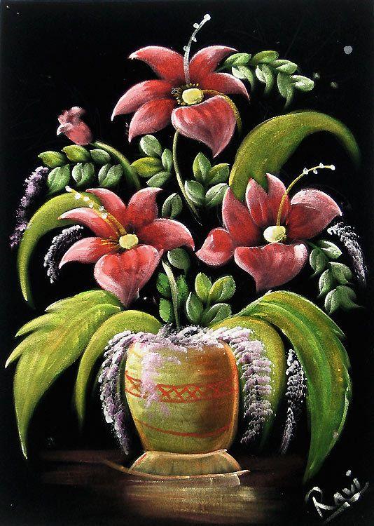 Passion (Painting on Velvet Cloth - Unframed))