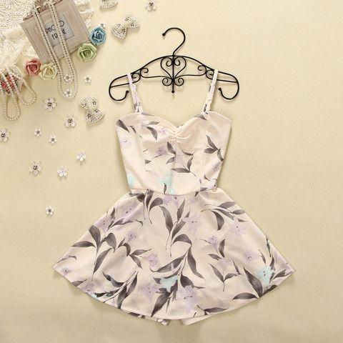 Printed harness dress J707FB – Tepayi
