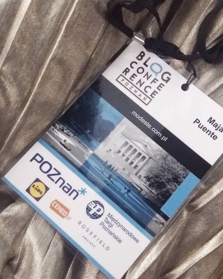 Pierwszy dzień prelekcji za mną. Mózgojebka - jest. Nowe pomysły - są. Teraz czas na networking.  Lub jak kto woli - afterek.  #Poznan #BCPoznan . . .  __________ #fashion #fashionblogger #fashionista #details #bloggerlife #lifestyle