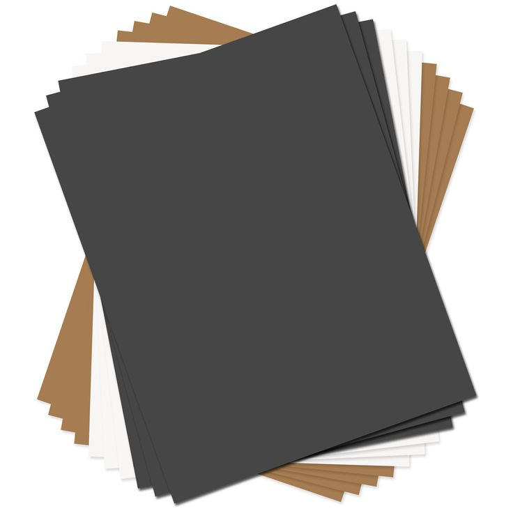 """Sizzix Paper Leather Sheets 8.5""""x11"""" - Basics Assorted"""
