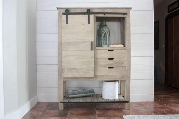 Best 25+ Barn door bookcase ideas on Pinterest | Sliding ...
