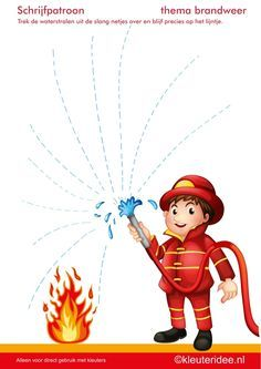 pompiers exercices graphisme maternelle