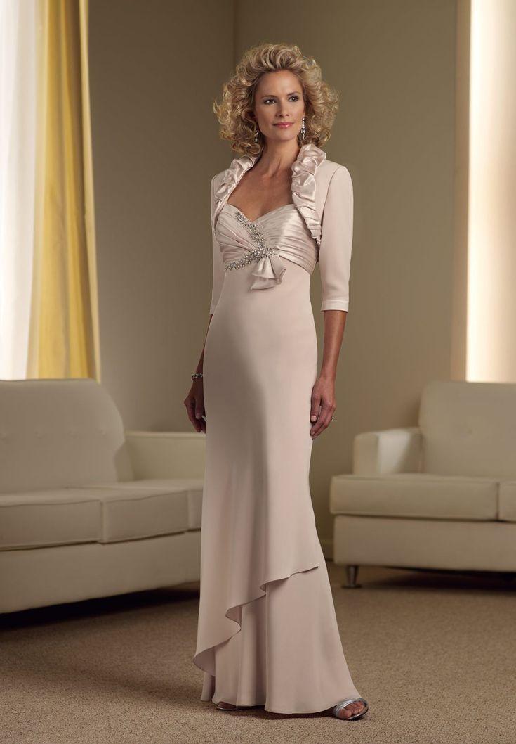 Chiffon Sweetheart Empire A-line Long Mother Of The Bride Dress - Mother of the bride - Fashionweddingdress.co.uk