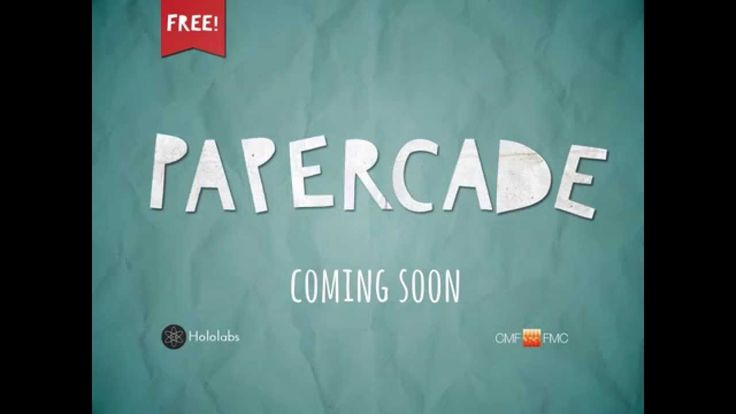 It's the official Papercade launch trailer! Coming soon to an iPad near you.  #papercade #scrapgaming #diorama #diy