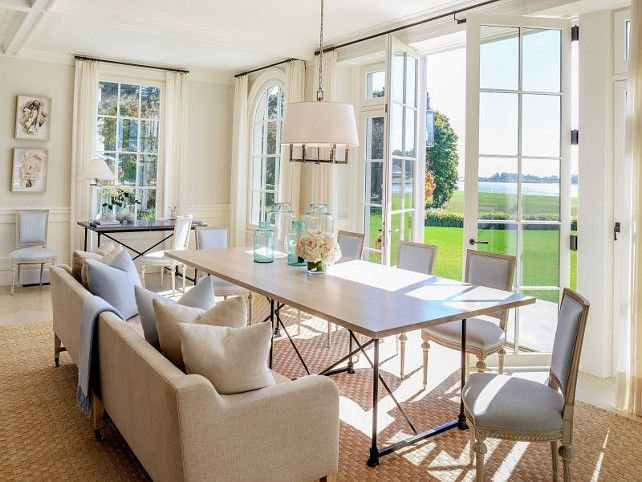 Dining Room In The Hamptons French DoorsHomes For SalesHouse