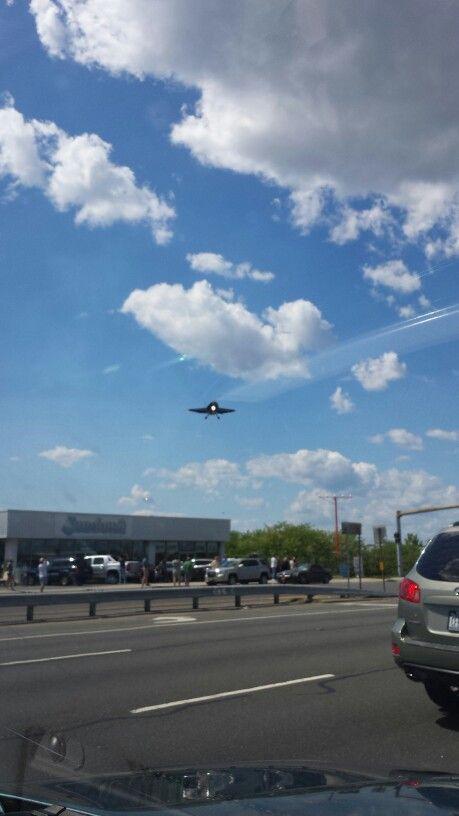 Blue angels landing