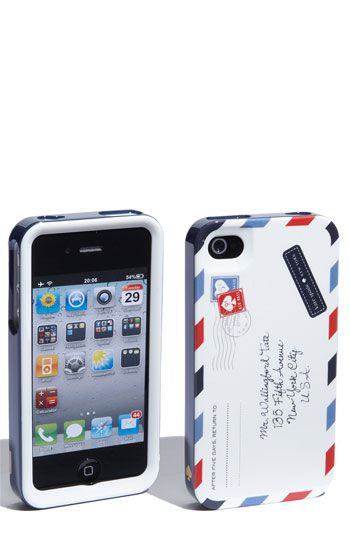 """$40.00 Kate Spade """"Airmail"""" Case - not that I need a new one...but maybe I need a new one."""